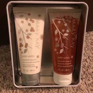 Mary Kay body lotion/shimmer shower gel set